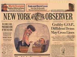 New York Observer, yazılı nüshası tarih oldu