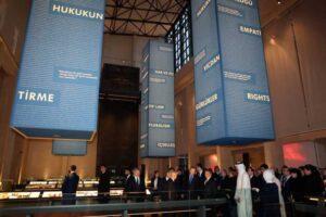 Müze, Türk siyasi hayatının her dönemini sergiliyor..